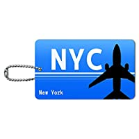 ニューヨークNY - すべての空港(NYC)空港コード IDカード荷物タグ