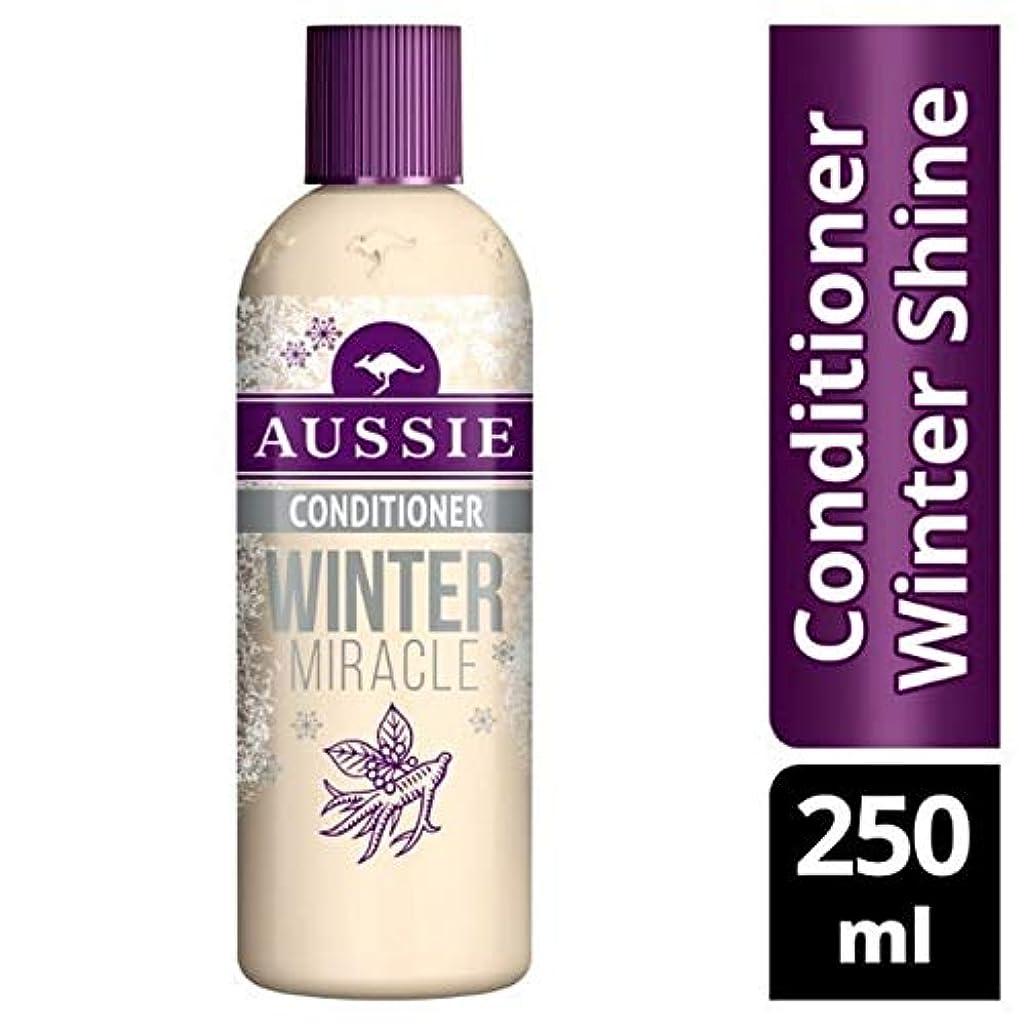 顎テクスチャーロック[Aussie ] 鈍い、疲れた髪の250ミリリットルのためのオーストラリアコンディショナー冬の奇跡 - Aussie Conditioner Winter Miracle For Dull, Tired Hair 250ml...