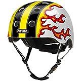 幼児?キッズ用軽量ヘルメット XXS-XSサイズ 46-52cm [マグネット式バックル、ダイヤル式アジャスター] ファイアドアップ