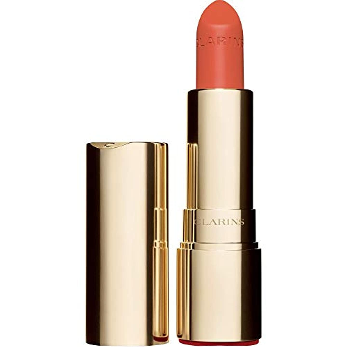 味発掘する壮大[Clarins] クラランスジョリルージュのベルベットの口紅3.5グラムの711V - パパイヤ - Clarins Joli Rouge Velvet Lipstick 3.5g 711V - Papaya [並行輸入品]