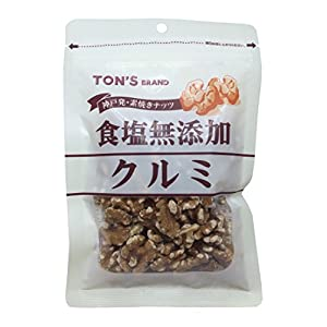 東洋ナッツ 食塩無添加クルミ 90g