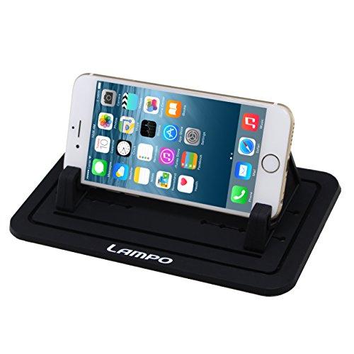 LAMPO スマートフォン用車載ホルダー GPS用クリップホ...
