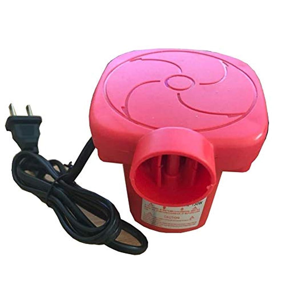大型トラック穀物予定水泳リング、インフレータブルソファ、インフレータブルサンドバッグ、インフレータブルベッド、インフレータブルボートなどのための効率的な二重使用赤電動エアポンプ
