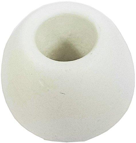 珪藻土 歯ブラシスタンド Lサイズ ホワイト HZ-KSMSL001(WH)...