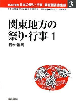関東地方の祭り・行事〈1〉栃木・群馬 (都道府県別日本の祭り・行事調査報告書集成)