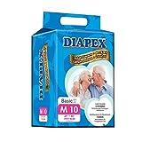 Diapex Basic Adult Diaper M, 10 count
