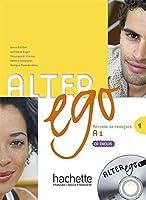 ALTER EGO-1/LIVRE+CD AUDIO ELEVE
