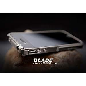 "【iPhone4S/4対応】iPhone4専用バンパー""BLADE"" Duralumin case Metal Bumper (TitaniumSilver × TitaniumSilver)並行輸入品"