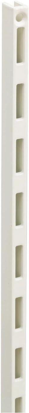 ウッドワン カナモノ 棚柱 ホワイト シングル[長さ309mm]2個セット MKTTS03-2-W