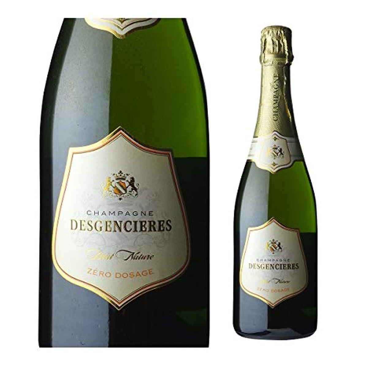 飲料ジョブオーバーランデジャンシエール ブリュット ゼロ NV 750ml ゼロ ドサージュ シャンパン シャンパーニュ