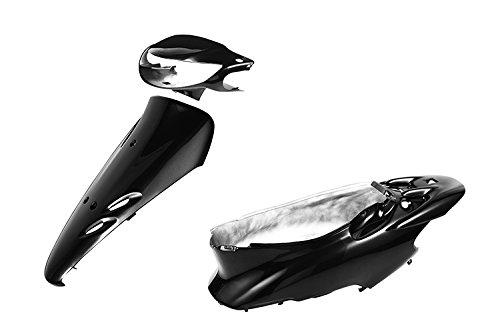 バイクパーツセンター 外装セット ブラック 黒 2型 ディスクブレーキ車 塗装済み 純正タイプ ホンダ ライブDio ZX AF35 2型 3076