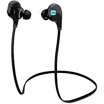 Mpow Swift Bluetooth 4.0 イヤフォン ワイヤレスステレオヘッドセット aptX付 (ブラック)