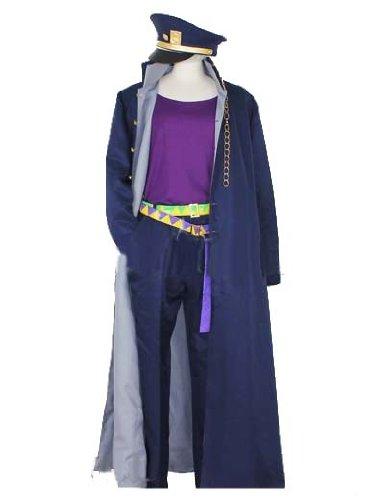 [ウェブエッセンス] コスプレ衣装 ジョジョの奇妙な冒険  第三部 空条承太郎 風  コスプレ コスチューム オリジナル ブレスレット 付き