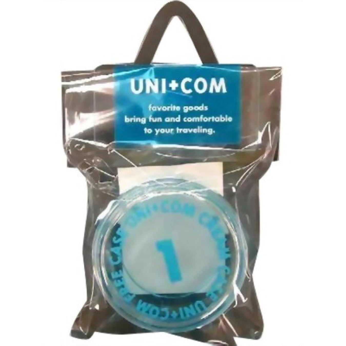スケルトン洗剤含意ユニコム クリームケース 22g ブルー