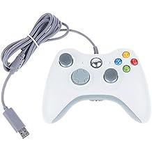 iFormosa Xbox 360 USB 有線 ゲームコントローラー Xbox360 Windows 対応 白 IF-X360-WD-WT