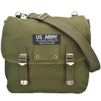 立花(TACHIBANA) US・ARMY サドルバッグ SINGLE 布 GRN NO100