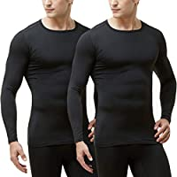 TSLA Blank Men's Microfiber Fleece Lined Top & Bottom Set