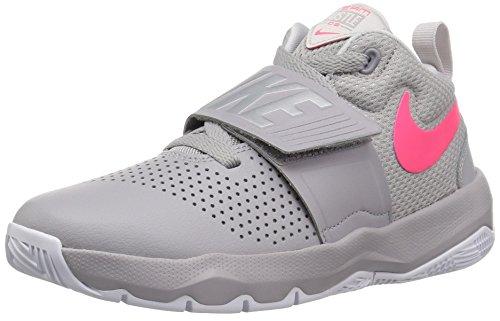 60d8ad38767f (ナイキ) Nike シューズ Team Hustle D 8 GS GS A.Gry R.Pink バスケットボール 22.5 ◯  キッズシューズナイキ チーム ハッスル D 8 GSは、フォーム入りメッシュに ...