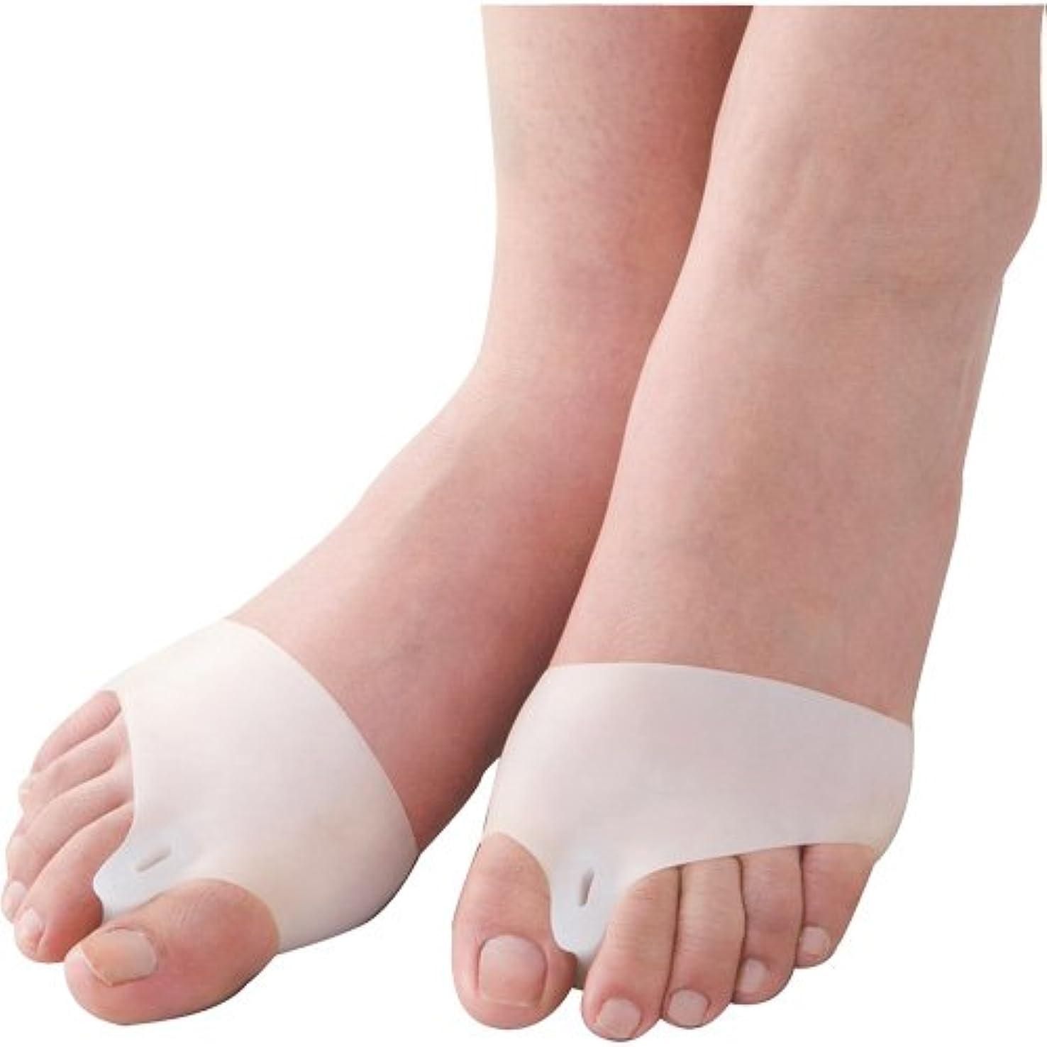 具体的に熱残酷外反母趾ベルト 歩きらーく 1足組(2個入り)