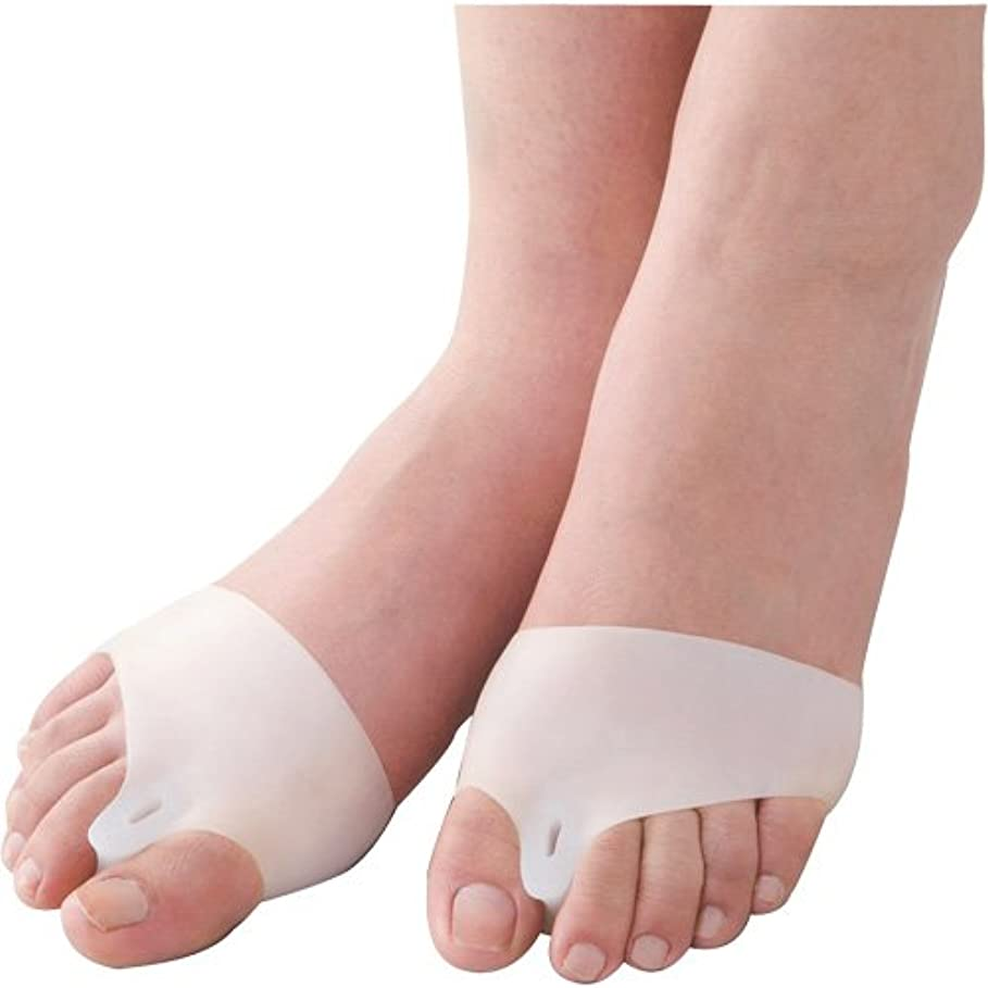 グローブオーラル質素な外反母趾ベルト 歩きらーく 1足組(2個入り)