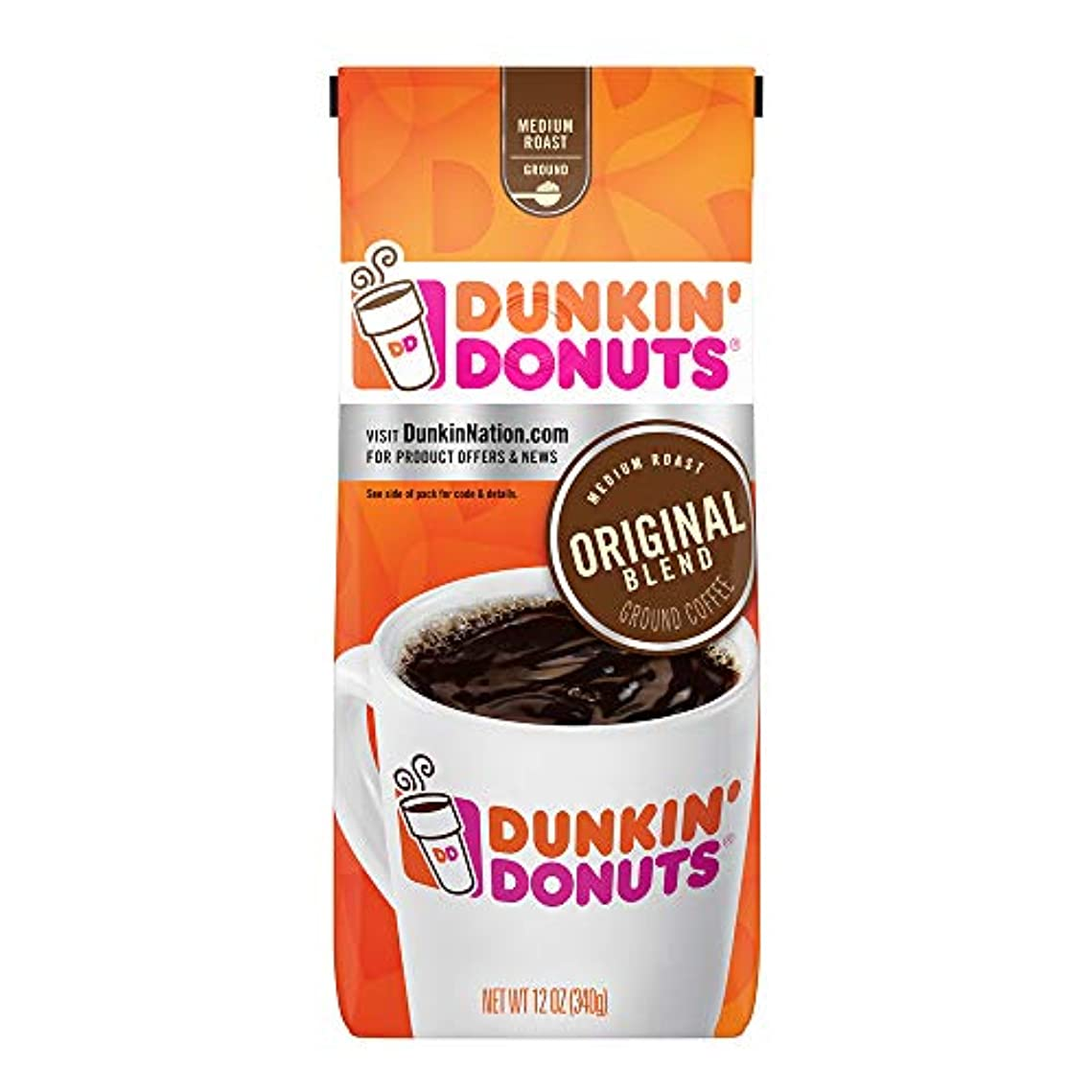 しっかりホテルアクティビティDunkin ' Donutsオリジナルブレンドグラウンドコーヒー