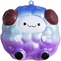 FanXing応力Reliever Sheep Cartoon Squeeze Slow Rising Decompression Kids Toy