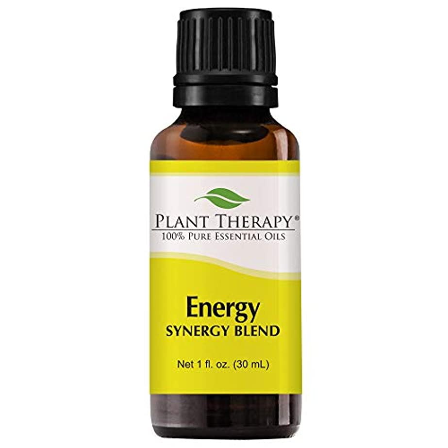 スクレーパーにぎやか松明Plant Therapy Energy Synergy Essential Oil Blend (Physical Energy). Blend of: Blood Orange, Peppermint, Lemon,...