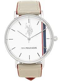[ユーエス ポロ] 時計 レディース US POLO ASSN US-1B-LG ホワイト グレー レッド [並行輸入品]