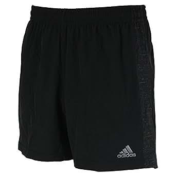 adidas(アディダス)【BJJ69】メンズ ランニング ウェア M SNOVA リフレクト ショーツ パンツAP0657(ブラック) L