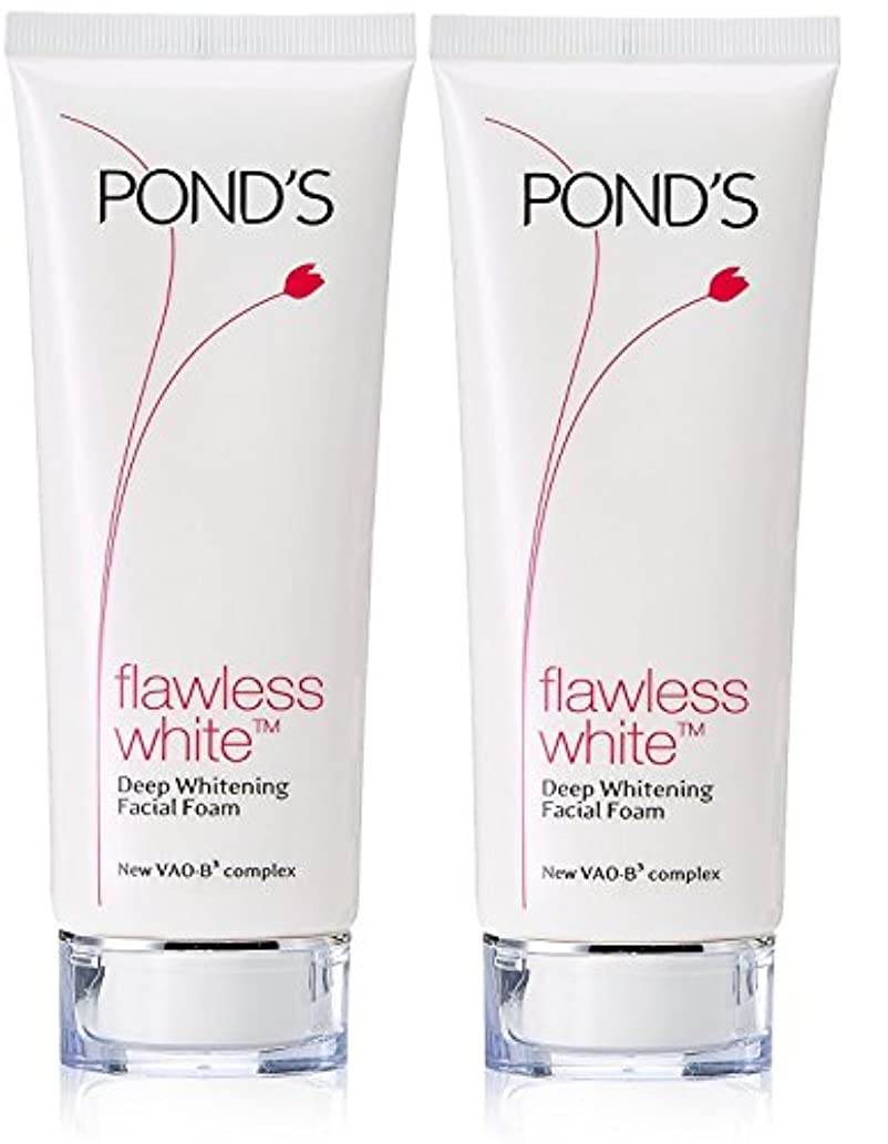 迅速死んでいる夕食を作るPond's Flawless White Deep Whitening Facial Foam, 100g (Pack of 2)