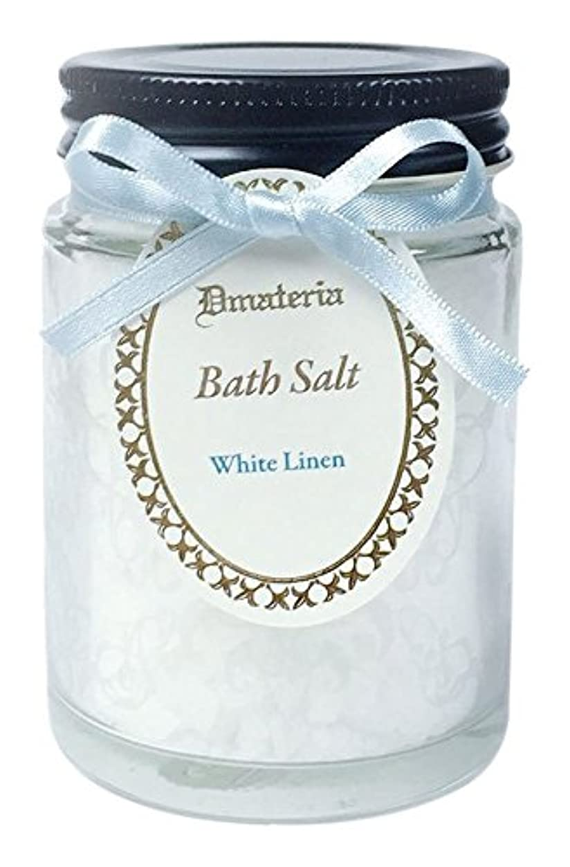 矢印クルーズカロリーD materia バスソルト ホワイトリネン White Linen Bath Salt ディーマテリア
