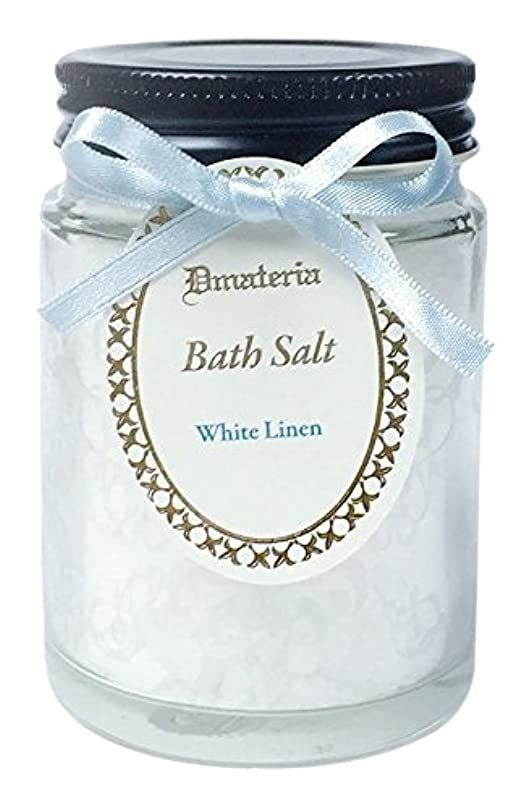 半ば土砂降り競うD materia バスソルト ホワイトリネン White Linen Bath Salt ディーマテリア