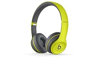 【国内正規品】Beats by Dr.Dre Solo2 Wireless Active Collection Bluetooth対応 密閉型ワイヤレスオンイヤーヘッドホン ショックイエロー