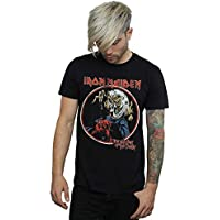 Absolute Cult Iron Maiden Men's Number of The Beast T-Shirt