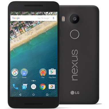 Google Nexus 5X (SIMフリー, 16GB, Carbon Black)[並行輸入]