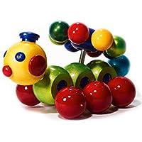 intelblox ハニービー 木製玩具 回転ビーズ付き 木製ボール ヘリックス 教育用木製玩具 幼児 子供 赤ちゃん 男の子 女の子
