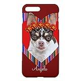 死んだチワワ犬のiphone7のプラスの例の日iPhone7plusケース アイフォン ケース アイフォーン ケース アイフォン7プラス ケースアイホン7plus