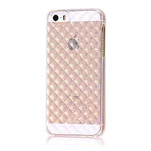 レイ・アウト iPhone SE/iPhone5s/iPhone5 ケース TPUソフトケース キラキラ クリア RT-P11C7/C