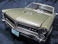 《送料無料!》◆超希少1/18ポンティアックGTO1965年金色 アメ車