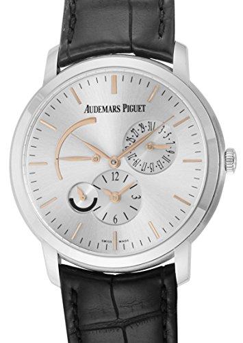 [オーデマ ピゲ]AUDEMARS PIGUET 腕時計 ジュールデュアルタイム シルバー文字盤 26380BC.OO.D002CR.01 メンズ 【並行輸入品】
