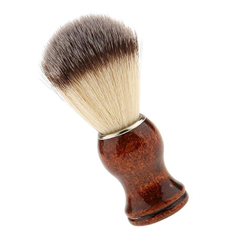 散文鳥肘掛け椅子SONONIA サロン 理髪用 ナイロン シェービングブラシ 首/顔 散髪整理  泡たてやすい ひげブラシ