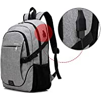Backpack Laptop Chargeable Student Business Unisex Lightweight Heavy Duty