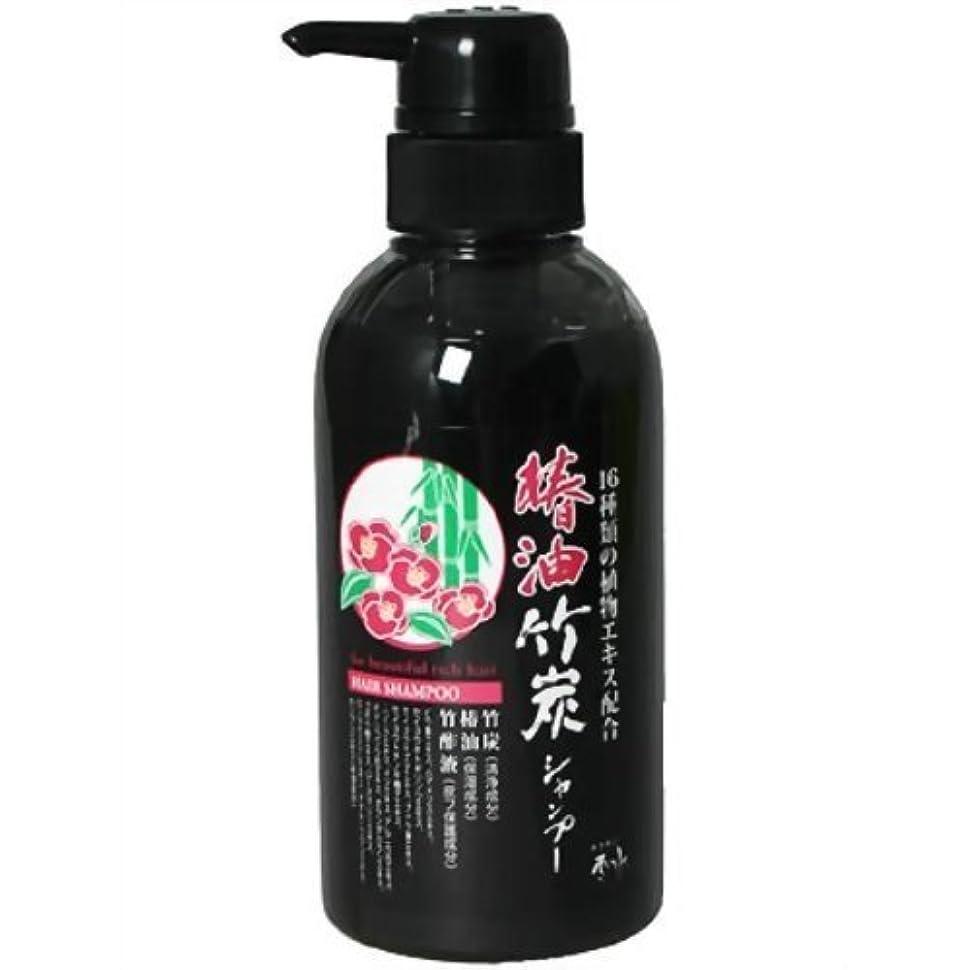 谷個人的な曖昧な椿油竹炭シャンプー 340ml