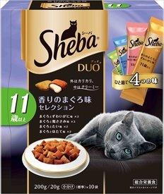 シーバ デュオ 11歳以上 香りのまぐろ味セレクション  200g