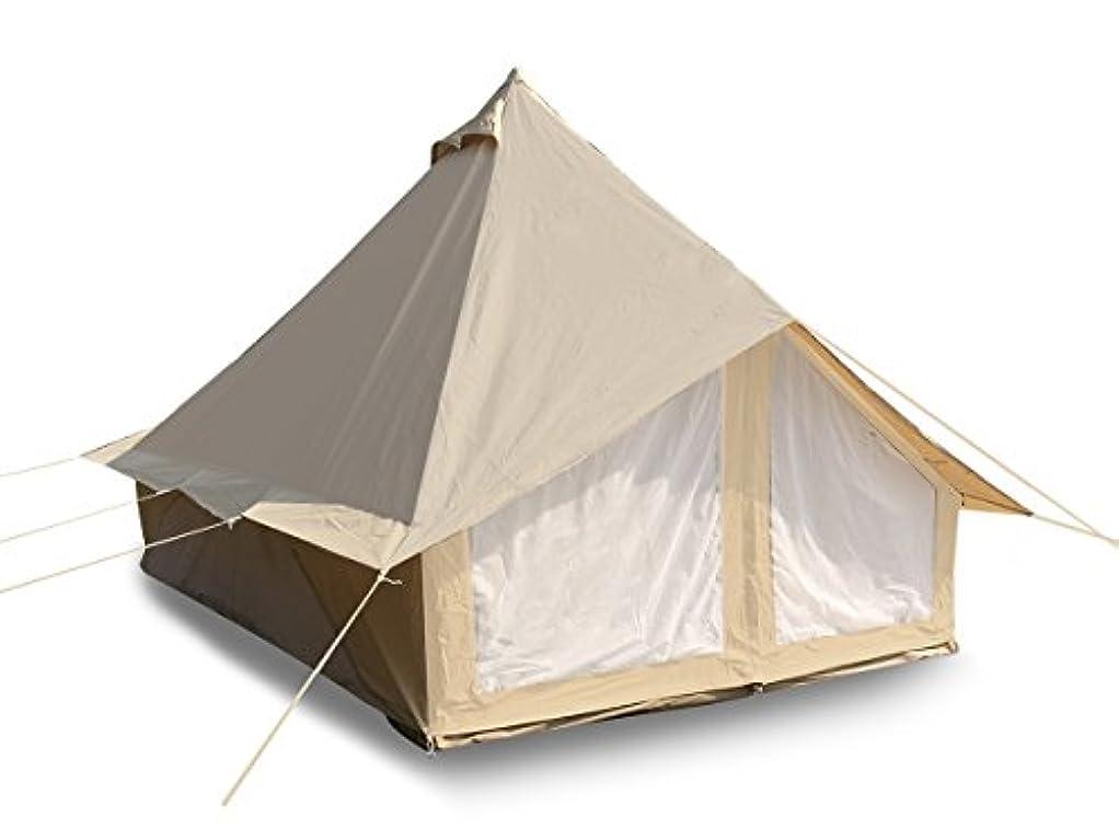 動機かすれたフェンスCozy House Large 4 Season Family Camping Bell Tent Safari Tent for Outdoors