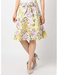 MISCH MASCH(ミッシュマッシュ) 水彩花柄スカート