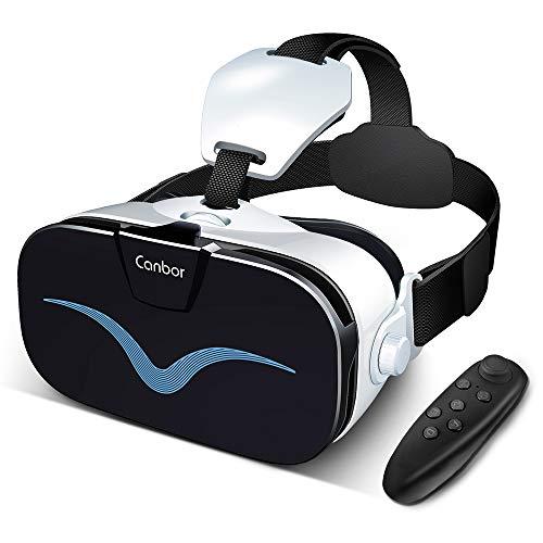 Canbor VRゴーグル VRヘッドセット3D VRメガネ...