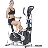 Powertrain Elliptical Cross Trainer Exercise Bike Machine Home Gym Bicycle