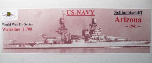 1/700 米海軍戦艦 BB-39 アリゾナ 1941