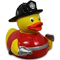 Rubber Duck Firefighter ゴム製のアヒル …
